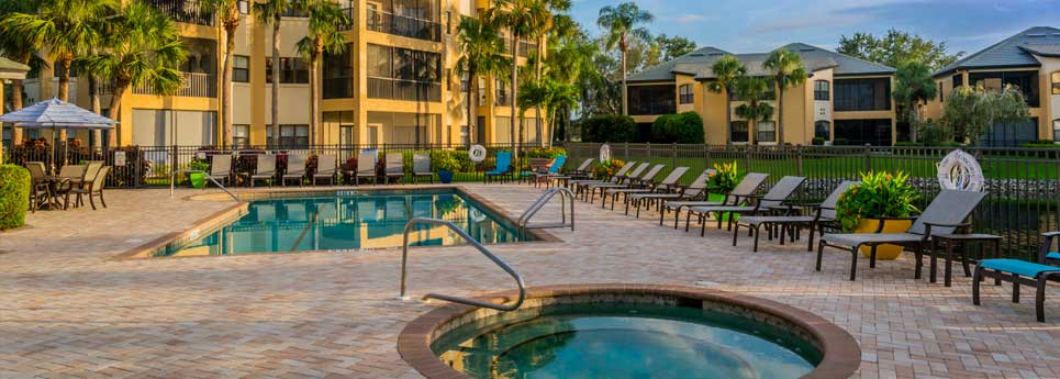 Pool at Concord community | Vineyards Community Association - Naples, Florida