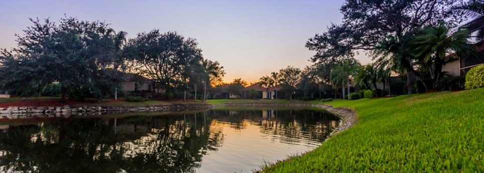 Lake at Fountainhead community   Vineyards Community Association - Naples, Florida