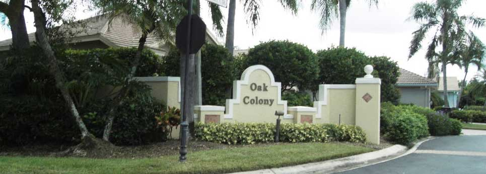 Oak Colony Community | Vineyards Community Association - Naples, Florida