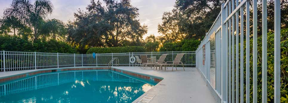 Pool at Fountainhead community | Vineyards Community Association - Naples, Florida