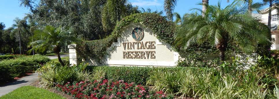 Vintage Reserve Neighborhood in the Vineyards Community   Vineyards Community Association