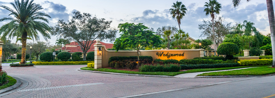 Wedgewood Entry | Vineyards Community Association - Naples, Florida
